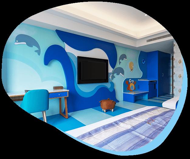 童樂主題客房-海洋風